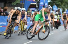 Triathlon: Reid into World Series top 10 after strong finish in Japan
