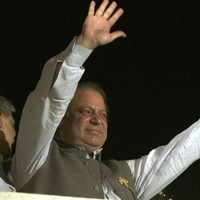 14 years after being overthrown, Sharif claims victory in Pakistan elections