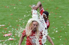 Brilliant pics of Bayern Munich drowning each other with beer