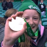 Neil Lennon gave his SPL medal to a young Celtic fan