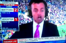 Sky Sports presenter loses his mind after stunning Watford breakaway goal