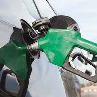 The cost of filling your car fell last month