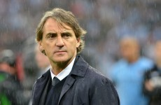 Man City will wield the axe on Mancini this week - reports