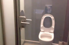 Is this the cleverest toilet door to ever exist?