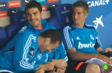 No one told Fabio Coentrao he was rested for Real Madrid's game at the weekend