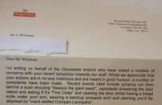 Royal Mail kindly asks customer to stop with the pranks