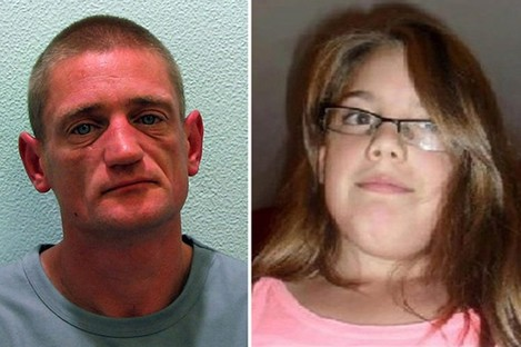 Handout photo issued by the Metropolitan Police of Stuart Hazell and Tia Sharp.