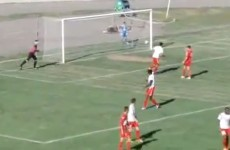 One of the worst -- or possibly best -- own goals you'll ever see