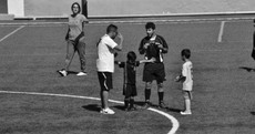 This 5-year-old stepped in to stop a fight between his football coach and the ref