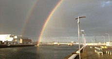 Photos: Spot a rainbow this evening? Cos there were lots of them...