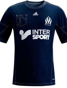 Marseille's new faux-denim jersey is unspeakably bad