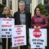 'I didn't do anything wrong' - Meath man protests auction of family business