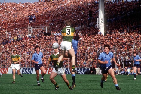 The Dubs face their old rivals from the Kingdom in the 1984 All-Ireland final.