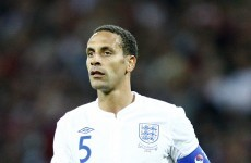 'At the age of 34, I feel it is right for me' - Ferdinand calls time on England career