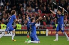 Last-minute goal earns Chelsea victory in the Europa League final