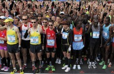 Boston Marathon invites stopped runners back