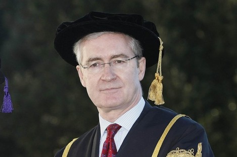 UCD president Hugh Brady, whose ten-year tenure ends this December, is one of the country's top public earners with a basic salary of over €200,000.