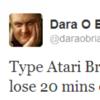 Tweet Sweeper: Dara O'Briain falls into a Google vortex