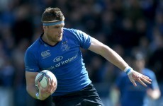 Jamie Heaslip on 5-man shortlist for ERC Player of the Year
