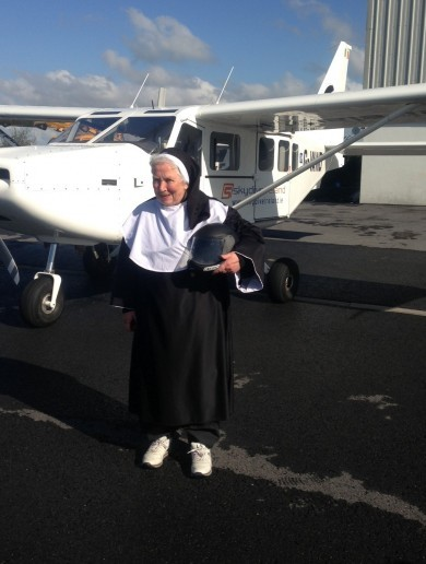 It's a bird, it's a plane... No, it's the 75-year-old Flying Nun