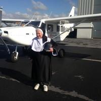It's a bird, it's a plane... No, it's the 75-year-old Flying Nun