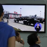 North Korea launches three short-range missiles
