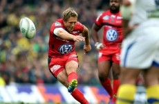 Jonny Wilkinson named European Player of the Year