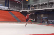 The Munster players are really terrible gymnasts
