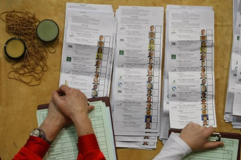 The count is underway in Dublin's RDS.