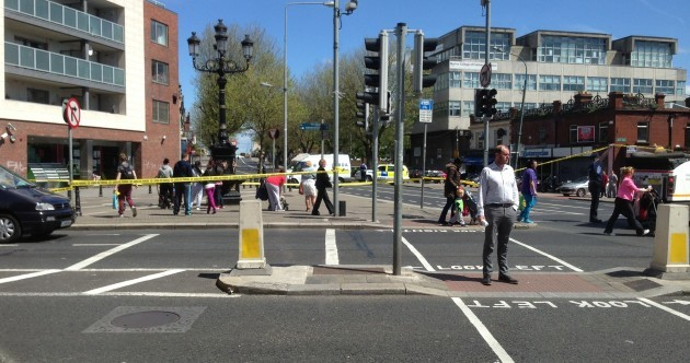 Bomb squad called after suspicious device found in central Dublin