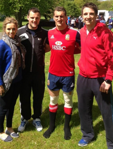 Your 'Lions Captain And 2 All-Ireland Football Winners' Pic Of The Day