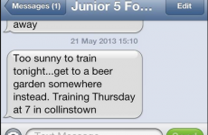 The text that sums up everything we love about junior football