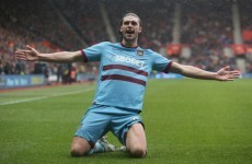 Andy Carroll out of England squad to face Ireland at Wembley