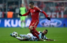 Ribery: Chill out, Bayern are stronger than Dortmund