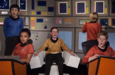 These kids' school play is the the kind you've always dreamed of