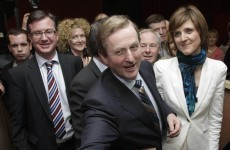 The next Taoiseach Enda Kenny re-elected in Mayo