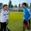 Niall Horan & One Direction meet Real Madrid's Ronaldo in short shorts