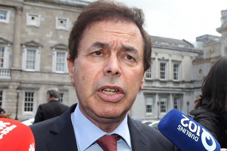 Alan Shatter says he was breathalysed, but could not complete the test because he is asthmatic.