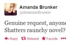 Tweet Sweeper: Amanda Brunker's sexy bedtime reading