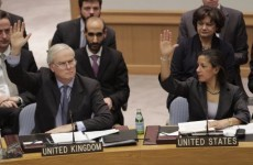 UN votes to impose sanctions on Gaddafi