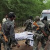 27 killed as guerrillas ambush convoy of Indian political leaders