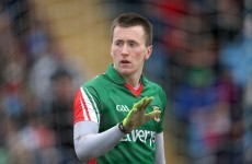 Setback for Mayo as Cillian O'Connor dislocates shoulder