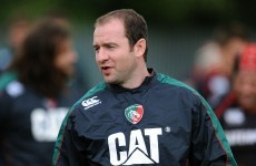 Geordan Murphy moves straight into coaching role with Leicester