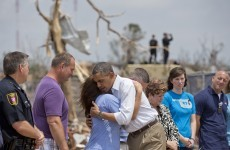 Obama offers solace in tornado-ravaged Oklahoma