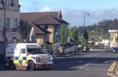 Pipe bombs thrown at police officers in Belfast
