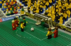 Champions League final highlights - now with added Lego