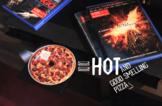 Dominos now make DVDs that smell like pizza