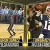 LeBron James throws faster than Tom Brady, according to this ESPN study