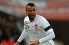 Ashley Cole WILL now lead England out against Ireland and skipper side