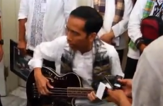 Indonesian politician's Metallica guitar seized amid concerns about corruption
